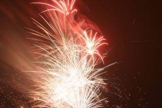 Fogos de artifício de bombas, blowup