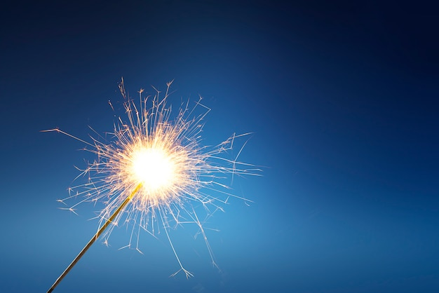 Fogos de artifício ficar com fogo
