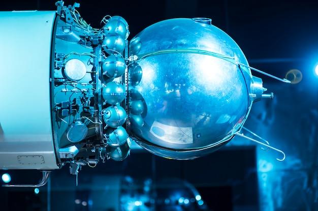 Foguete espacial no poligon