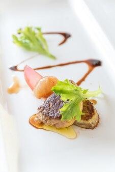 Foie gras grelhado