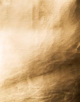 Folha antiga de fundo dourado