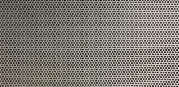 Folha de fundo de metal de furos circulares