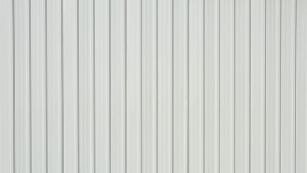Folha de metal corrugada branca