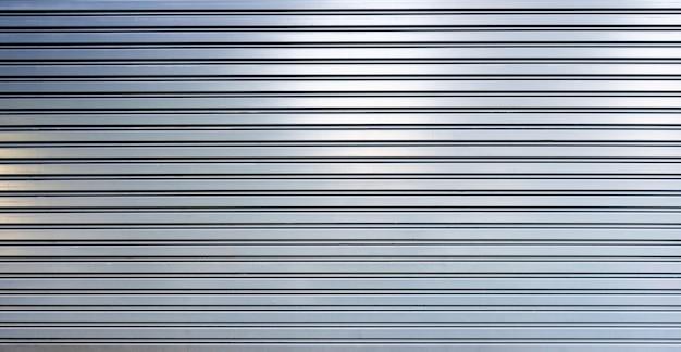 Folha de metal corrugado, porta corrediça, textura do obturador do rolo
