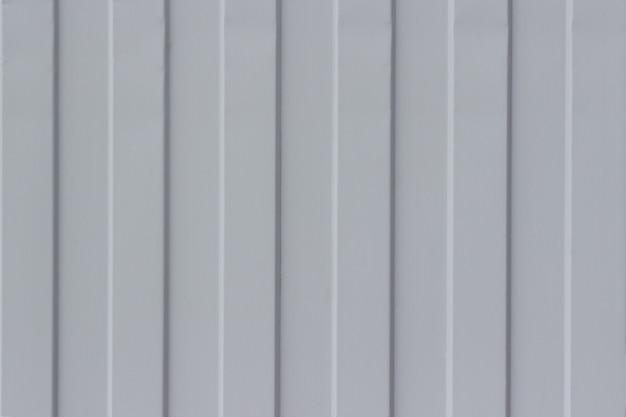 Folha de metal ondulada cinza, fundo de textura