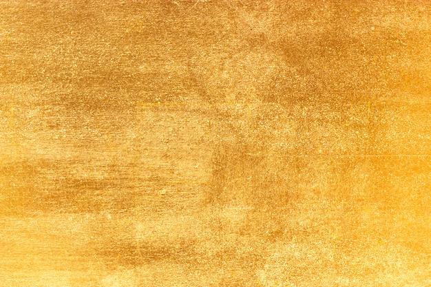 Folha de ouro brilhante folha amarela