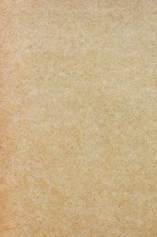 Folha de papel pardo ou textura de papelão