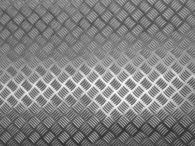 Folha de parede de metal texturizada com reflexão da luz