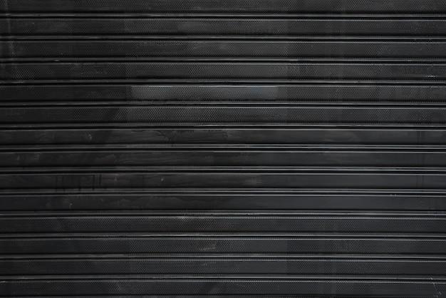 Folha de perfil preta