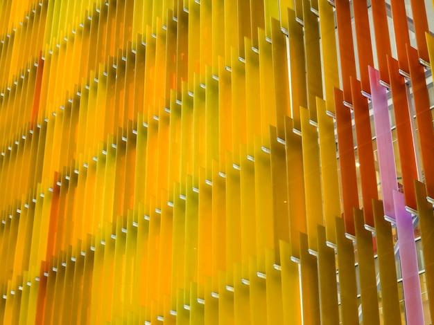 Folha de plástico acrílico com padrão interno e externo externo