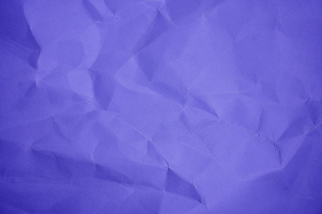 Folha de violeta amassado fundo de cor de papel close-up cópia espaço