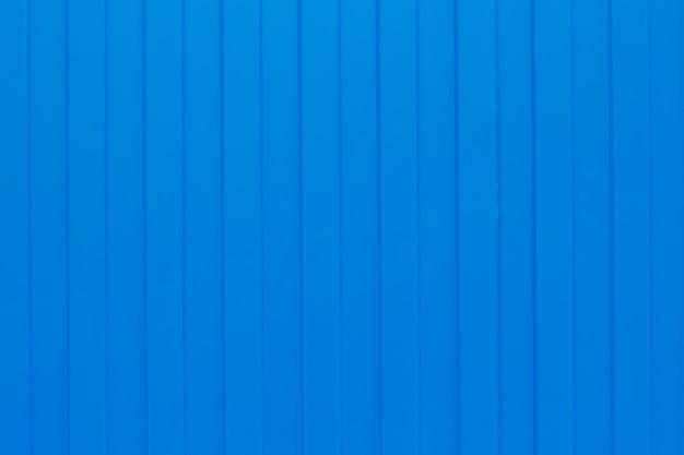 Folha ondulada de metal azul