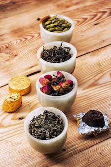 Folhas de chá