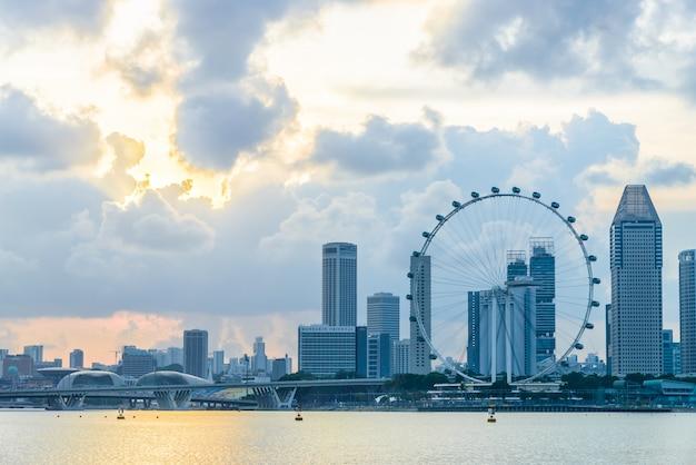 Folheto de singapore