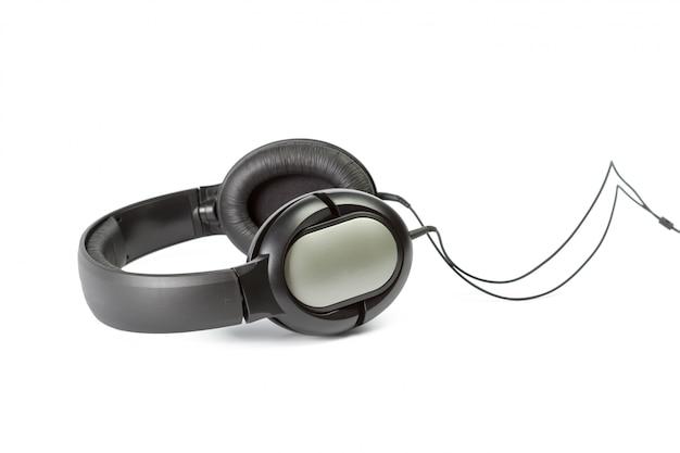 Fones de ouvido em branco