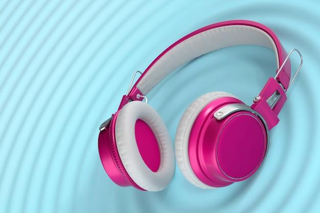 Fones de ouvido sem fio brilhantes engraçados
