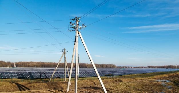 Fontes de energia alternativa. centrais solares