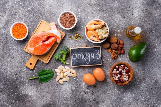 Fontes de produtos de ácidos omega-3