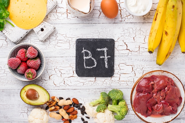 Fontes naturais de vitamina b7 biotina
