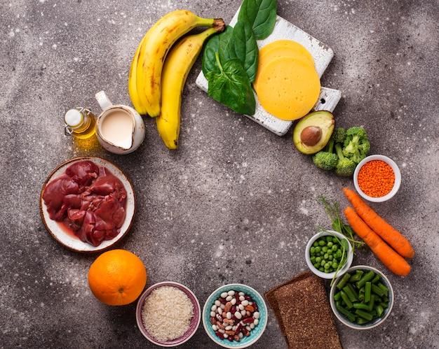 Fontes naturais de vitamina b9