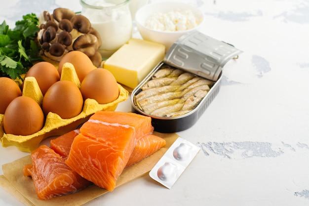 Fontes naturais de vitamina d