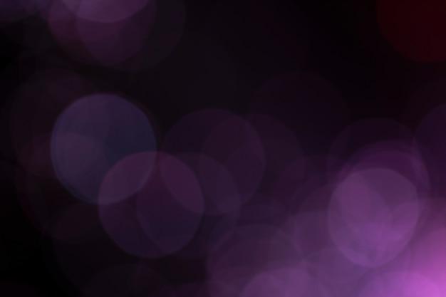 Fora de foco luzes de fibra óptica roxo