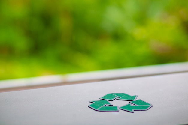 Fora grenn papel reciclar