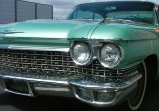 Ford thunderbird verde