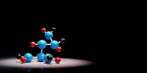 Forma da molécula em destaque isolada