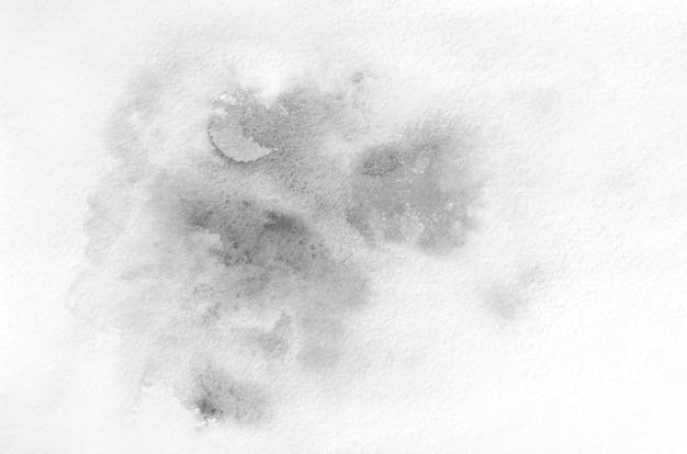 Forma de aquarela de mão desenhada preto e branco