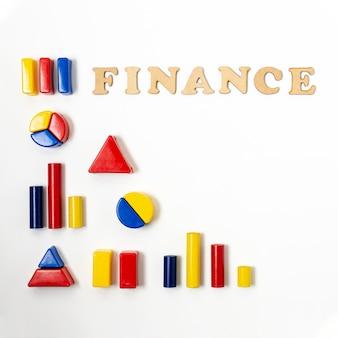Forma de hierarquia para diagramas financeiros