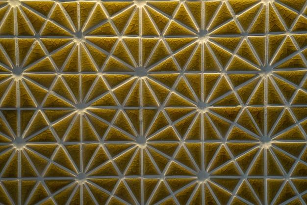 Forma de triângulo texturizado lado a lado Foto Premium