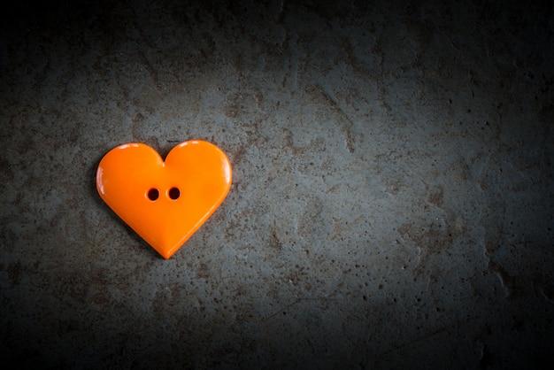 Forma do coração na textura