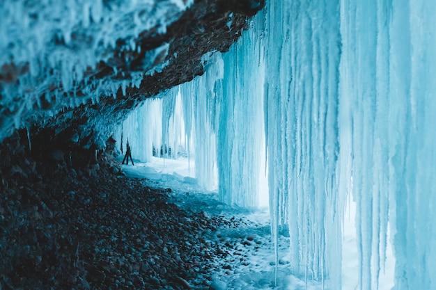 Formação de geleiras de gelo