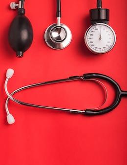 Formação médica. ferramentas médicas cardiológicas