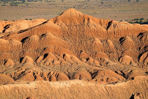 Formação pedra, em, vale lua, (valle, de, a, luna), em, deserto atacama, san pedro, atacama, chile