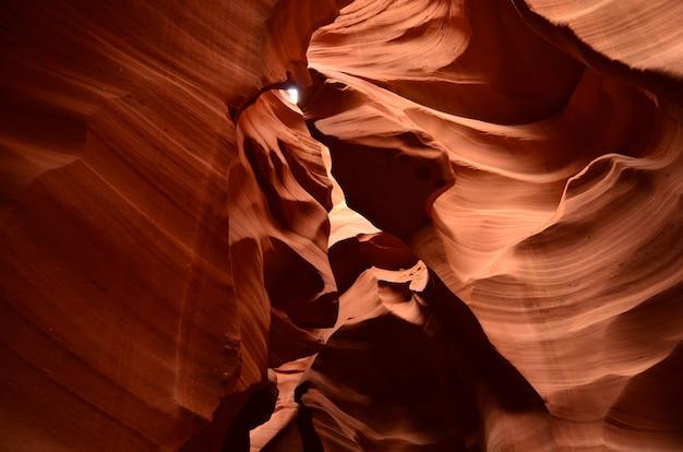 Formações rochosas no lower antelope slot canyon