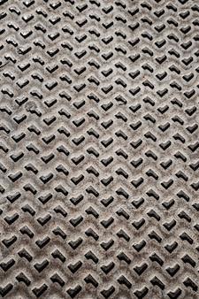 Formas abstratas de fundo metálico