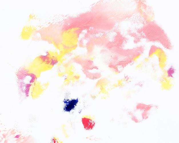 Formas abstratas multicoloridas