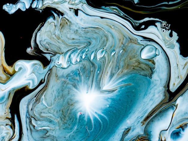 Formas de mármore coloridas abstratas para designs criativos