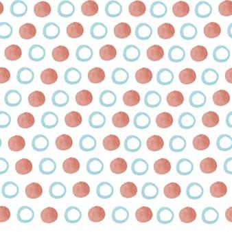 Formas geométricas de padrão sem emenda círculos quadrados de triângulos.