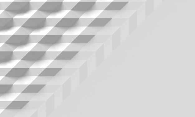 Formas geométricas e sombras no espaço da cópia do fundo