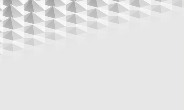 Formas geométricas em relevo copiam o fundo do espaço