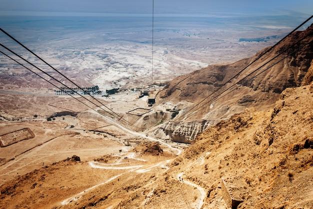 Fortaleza de massada em israel