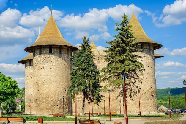 Fortaleza medieval em soroca, república da moldávia