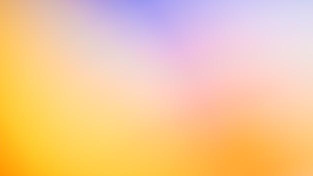 Foto abstrata desfocada gradiente com fundo de cor amarela suave