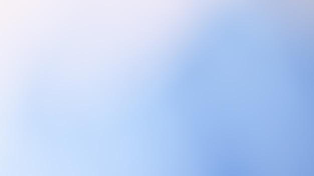Foto abstrata desfocada gradiente com fundo de cor azul suave