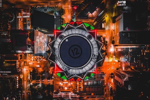 Foto aérea da us bank tower em los angeles