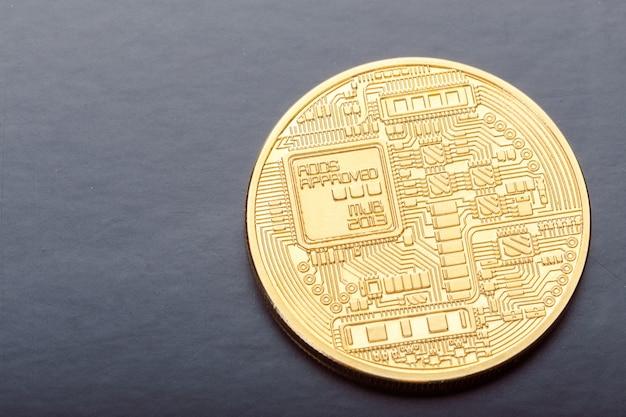Foto bitcoin dourado