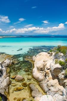 Foto da costa de pedra